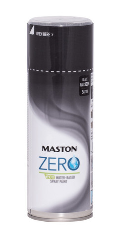 Spraymaali - Maston Zero - Musta - 400 ml