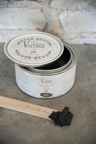 Antiikkivaha - JDL - Antique Wax - Black - Musta - 300 ml