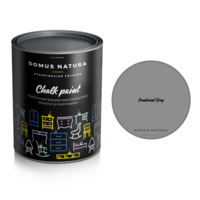 Kalkkimaali - Domus Natura - Chalk Paint - Deadwood Grey - Tummanharmaa - 1 litra