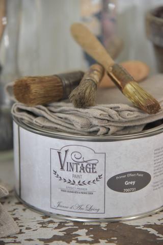 Efektipohjamaali - JDL - Vintage Primer Effect Paint - Grey - Harmaa - 1 litra
