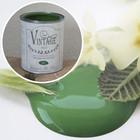 Kalkkimaali - JDL - Vintage Paint - Bright Green - Kirkkaanvihreä - 100 ml