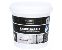 Kaakelimaali - Maston 2K - Metallinmusta - 250 ml