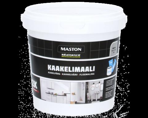 Kaakelimaali - Maston 2K - Maalarinvalkoinen - 250 ml