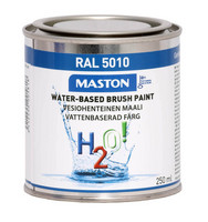 Kalustemaali - Maston H2O! - Gentiansininen - 250 ml