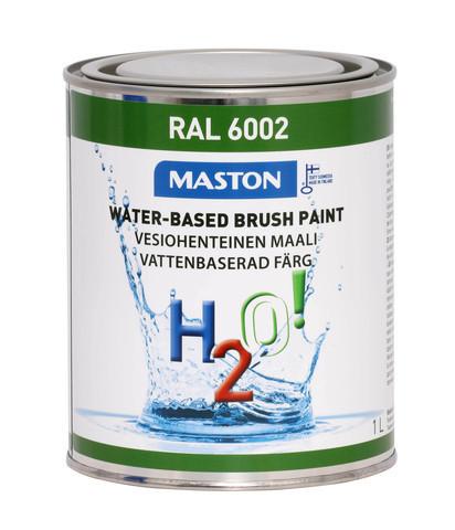 Kalustemaali - Maston H2O! - Vihreä - 1 l