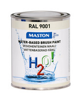 Kalustemaali - Maston H2O! - Kermanvalkea - 1 l *