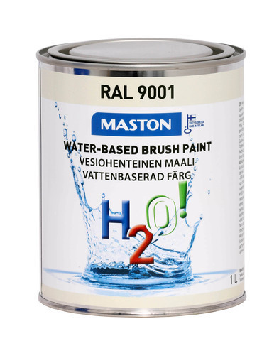 Kalustemaali - Maston H2O! - Kermanvalkea - 1 l