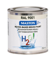 Kalustemaali - Maston H2O! - Kermanvalkea - 250 ml *
