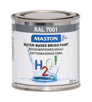 Kalustemaali - Maston H2O! - Hopeanharmaa - 250 ml *
