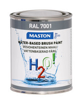 Kalustemaali - Maston H2O! - Hopeanharmaa - 1 l