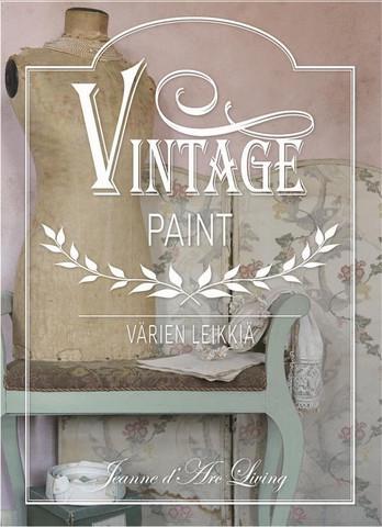Maalausopaskirja 2 -  Vintage Paint - JDL - Jeanne d´Arc Living - Värien leikkiä
