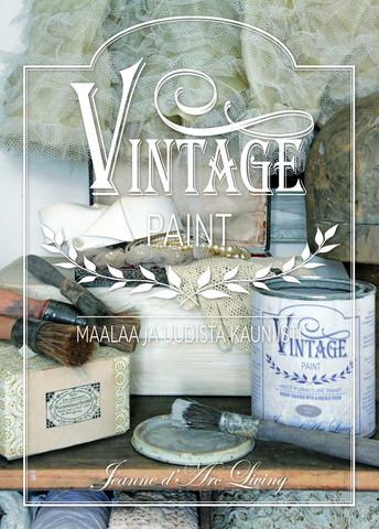 Maalausopaskirja 1 -  Vintage Paint - JDL - Jeanne d´Arc Living