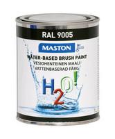 Kalustemaali - Maston H2O! - Mattamusta - 1 l