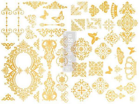 Siirtokuva - Gilded Baroque - 43 x 21 cm - Prima Redesign