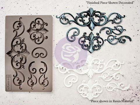 Silikonimuotti - 20x13 cm - Prima Re-Design Tilden Flourish