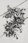 Leimasin - 16 x 25 cm - JDL Vintage Paint - Flower filigree