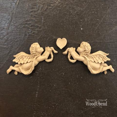 Puukoriste - 16 x 3 cm - WoodUBend 1186