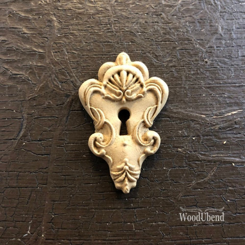 Puukoriste - 3 x 4,5 cm - WoodUBend 990