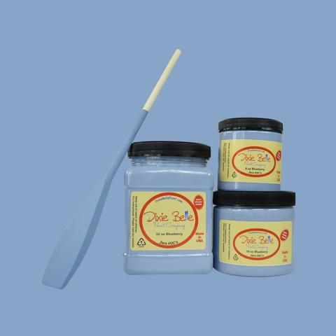 Kalkkimaali - Dixie Belle - Blueberry - Mustikansininen - 236 ml
