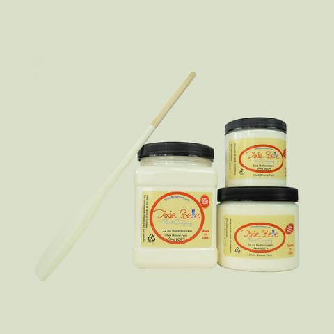 Kalkkimaali - Dixie Belle - Butter Cream - Kermanvalkoinen - 473 ml