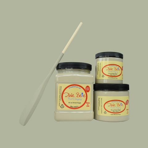 Kalkkimaali - Dixie Belle - Dried Sage - Salvianvihreä - 236 ml