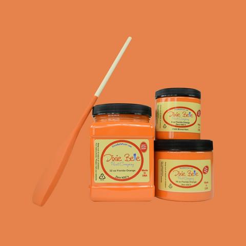 Kalkkimaali - Dixie Belle - Florida Orange - Oranssi - 473 ml