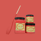 Kalkkimaali - Dixie Belle - Honky Tonk Red - Punainen - 473 ml