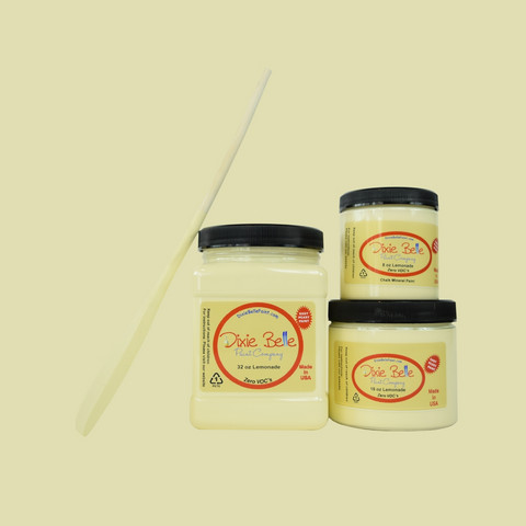 Kalkkimaali - Dixie Belle - Lemonade - Limsankeltainen - 473 ml