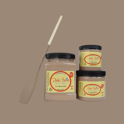 Kalkkimaali - Dixie Belle - Mud Puddle - Mutakuopanruskea - 236 ml
