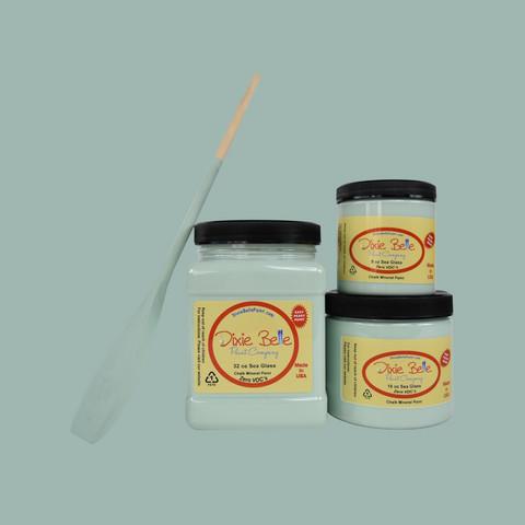 Kalkkimaali - Dixie Belle - Sea Glass - Merilasinvihreä - 473 ml