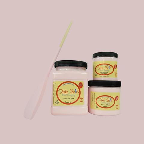 Kalkkimaali - Dixie Belle - Soft Pink - Pehmeänpinkki - 236 ml