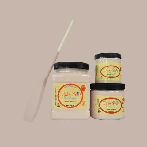 Kalkkimaali - Dixie Belle - Tea Rose - Teeruusunpinkki - 473 ml