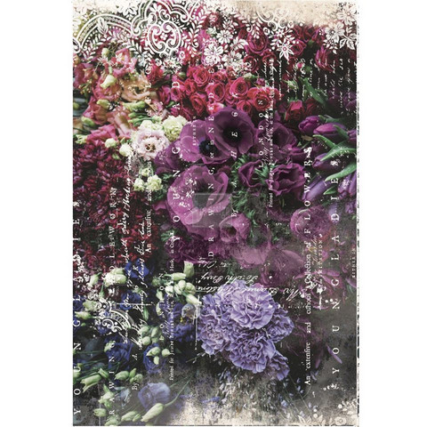 Decoupage-arkki - Giselle - 48 x 76 cm - Prima Redesign Decor Tissue Paper