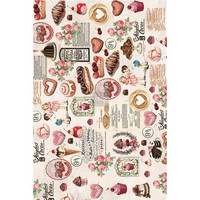 Decoupage-arkki - Redesign Mulberry Tissue - Super Decadent