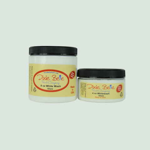 Kuullote - Valkoinen - Dixie Belle Glaze - White Wash - 118 ml