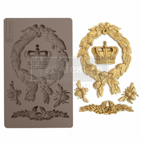 Silikonimuotti - 20x13 cm - Prima Re-Design - Royalty