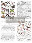 Siirtokuva - Parisian Butterflies - 55 x 76 cm - Prima ReDesign