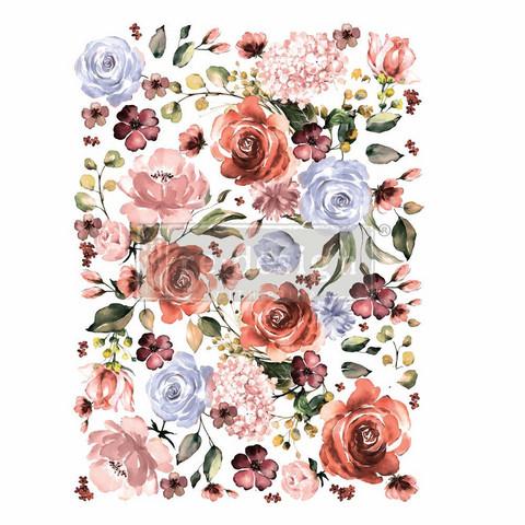 Siirtokuva - Rose & Rouge - 55 x 76 cm - Prima ReDesign