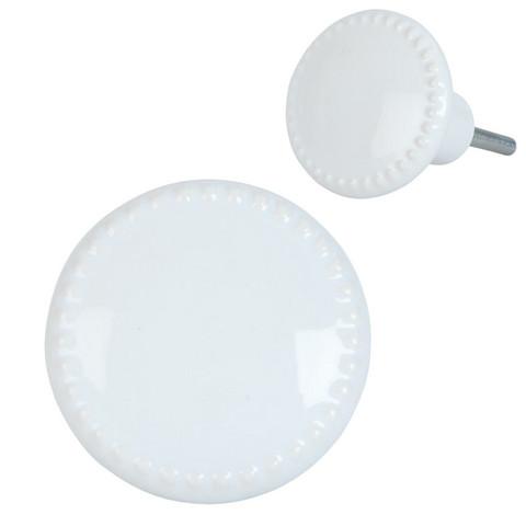 Nuppivedin -  Posliinia - Valkoinen