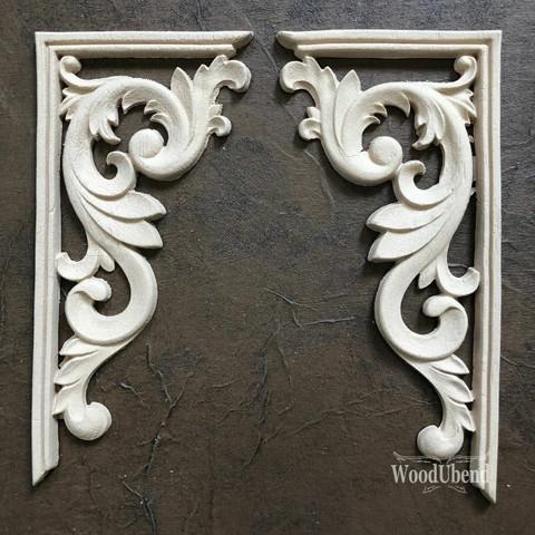 Puukoriste - 19 x 9 cm - WoodUBend 2160