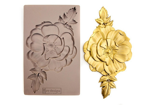 Silikonimuotti - 20x13 cm - Prima Re-Design - In Bloom