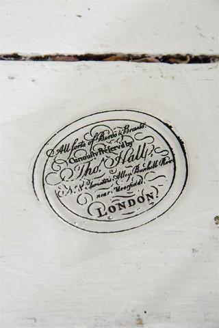 Leimasin - 8 x 6 cm - JDL Vintage Paint - Text Tho. Hall