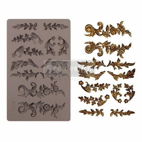Silikonimuotti - 20x13 cm - Prima Re-Design - Delicate Flora