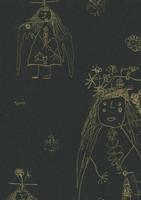Enkeli-tapetti, Pihlgren ja Ritola, musta