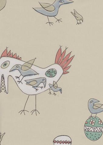 Fenix-lintu -tapetti, Pihlgren ja Ritola, vihreä