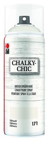 Kalkkimaalispray - Edelweiss 171 - Marabu ChalkyChic - 400 ml