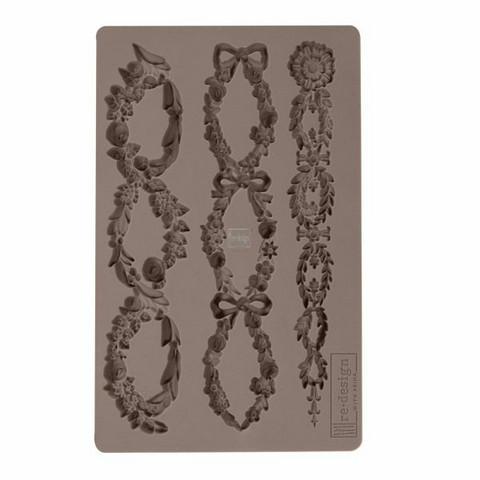 Silikonimuotti - 20x13 cm - Prima Re-Design - Floral Chain