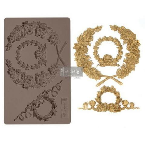 Silikonimuotti - 20x13 cm - Prima Re-Design - Laurel Wreath
