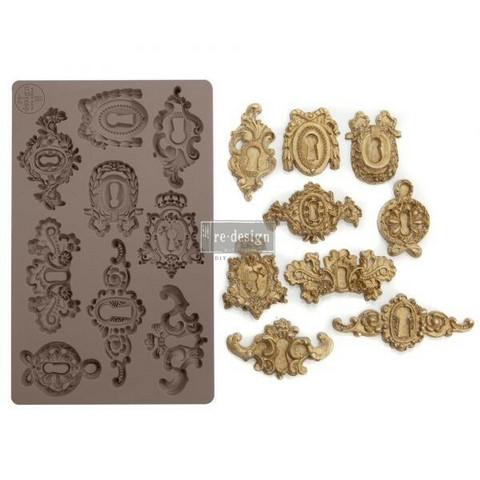 Silikonimuotti - 20x13 cm - Prima Re-Design - Grandeur Keyholes