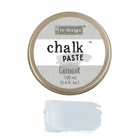 Kalkkitahna - Harmaa - Cement - Chalk Paste Prima Re-Design